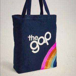 Gap kids Logo Flippy Sequin Tote
